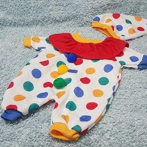 🔅new listing🔅Newborn Clown Costume